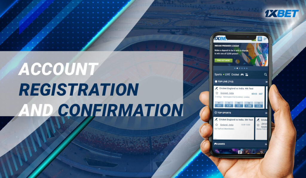 Account Registration and Confirmation
